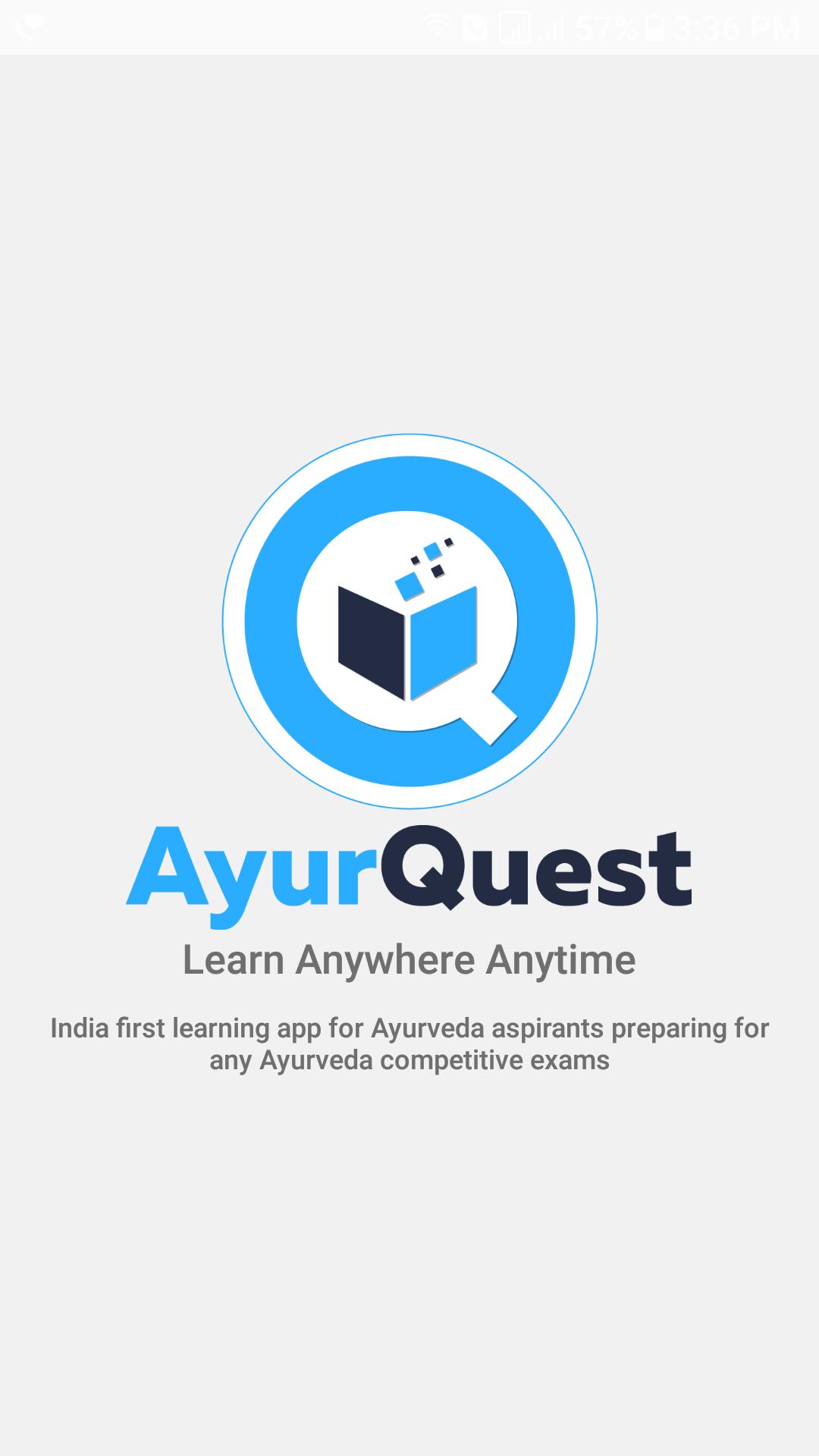 Online Test Series For Ayurveda AIAPGET & UPSC Exams - AyurQuest App